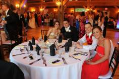 Mark Richardson and his date with Joe Rizzotto and Brittany Lambiase