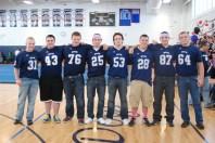 The football seniors.