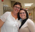 Ms. Hoffman and Kylie Langhoff. Photo by Jace Williams
