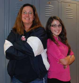 Ms. Lombardi and Gabbi derKinderen