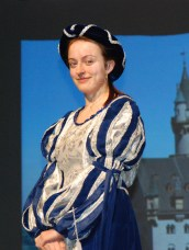 Ella Engle played the part of Rosalind.