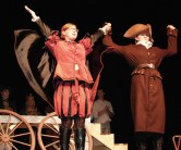 Cast of Othello bows: Jace Williams and Leah Decceco take a bow!