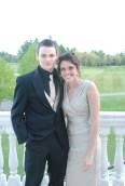 Richie Walls and Kelsey Daggett