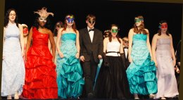 "The RHS Chorus in the final ""Masquerade"""