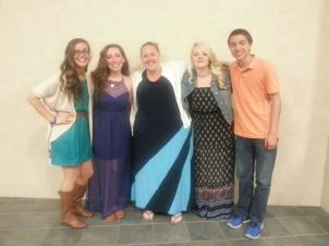 "RHS SGC's ""Fab 4"" and Advisor Ms. Walsh"