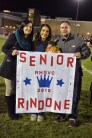 Bella Rindone with her parents, Daria and Gary
