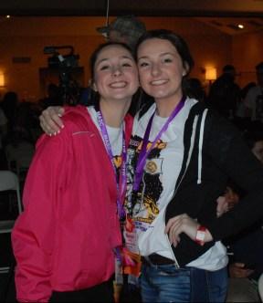 Hannah Murphy and Hannah Boben