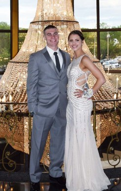 Joe Kimball and Kelsey Willett