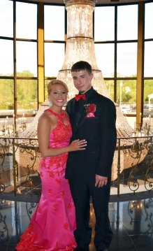 Stephen Fennell and Myah Parsons