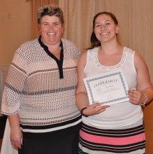 Jillian Schofield, Hugh O'Brien Leadership Award