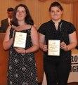 Megan Diver and Nicole Reera, Physical Education Awards
