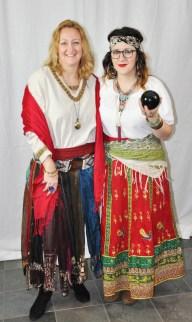 Cheryl Thompson and Kata Medeiros