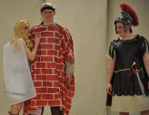 Matt O'Brien plays Thisbe, Ryan Leavitt is the wall and Harry O'Brien plays Pyramus