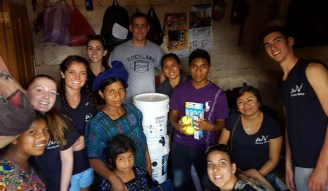 Bulldogs in Guatemala! Photo courtesy of Gregory Connors
