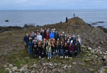 Giant's Causeway, located in County Antrim on the north coast of Northern Ireland was another interesting location for the Rockland group on their trip to the British Isles.