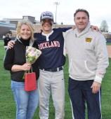 Matt Dunn with his parents, Carla and Steve.