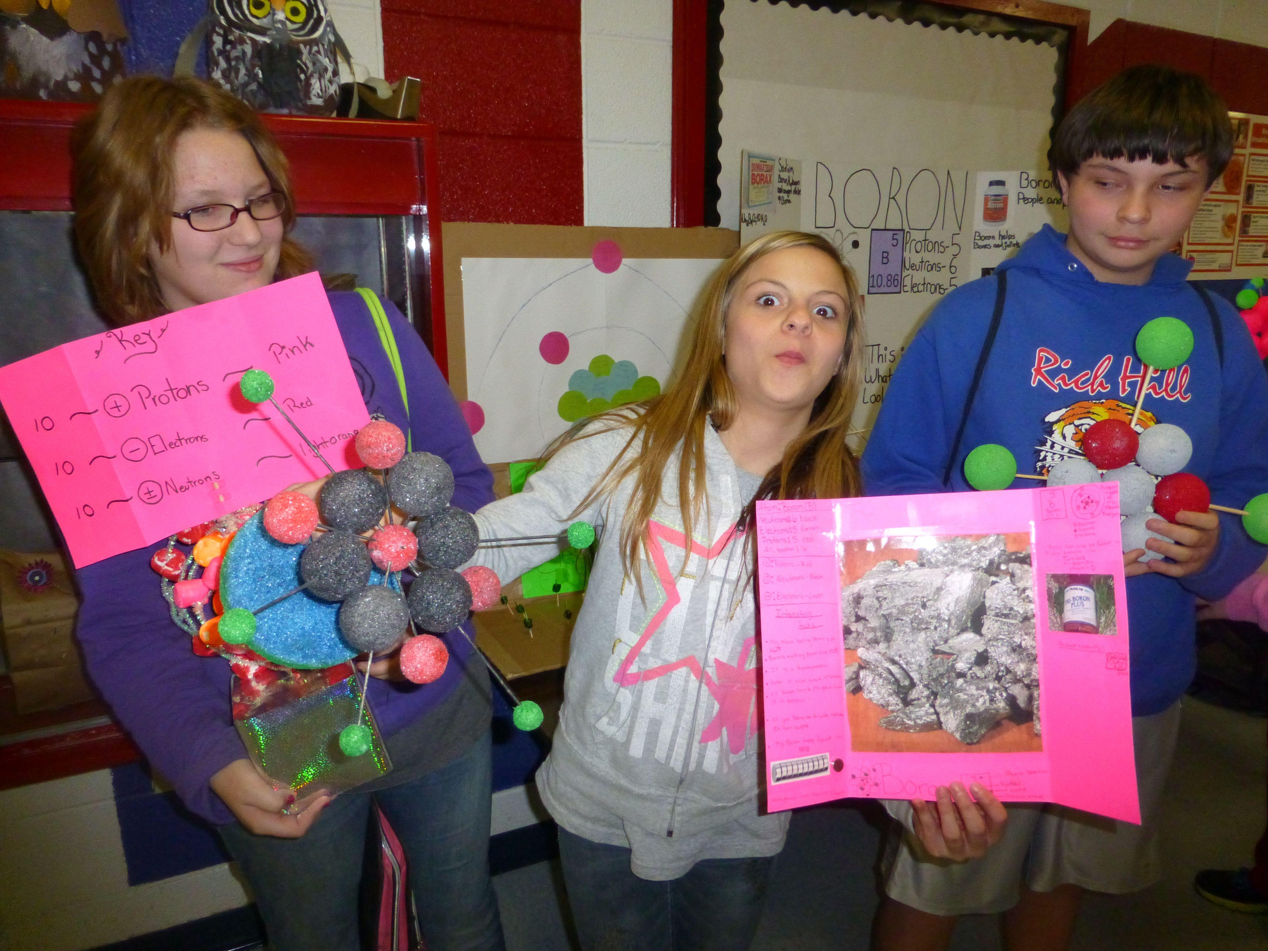 6th Grade Atom Project