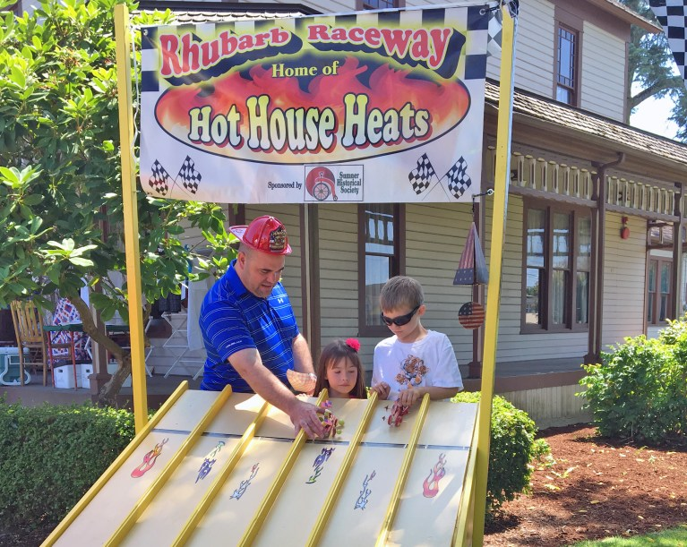 Rhubarb Racing