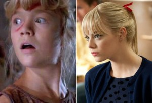 Lex Murphy from Jurassic Park and Gwen Stacy from TAS