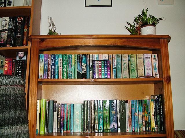 My shiniest paperbacks