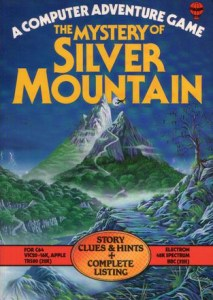 The cover of the programming book for Silver Mountain, along with the story and hints.