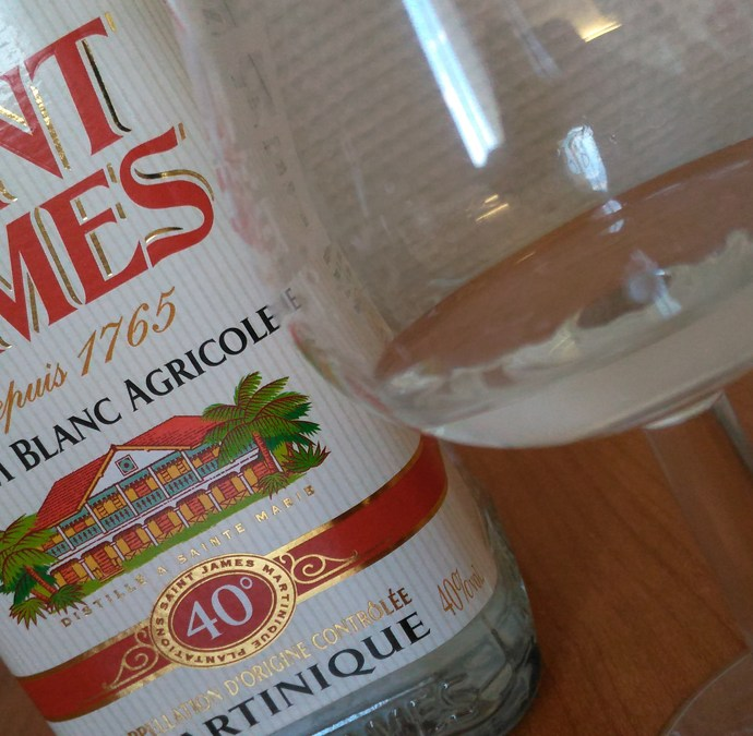 Rhum blanc Saint James 40° – Martinique [15/365]