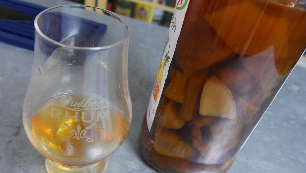 Rhum Arrangé Ananas, gingembre et vanille [62/365]