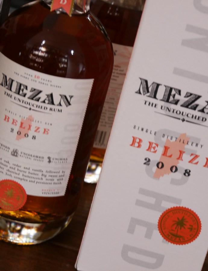 Mezan Belize 2008 – Rum millésimé [157/365]