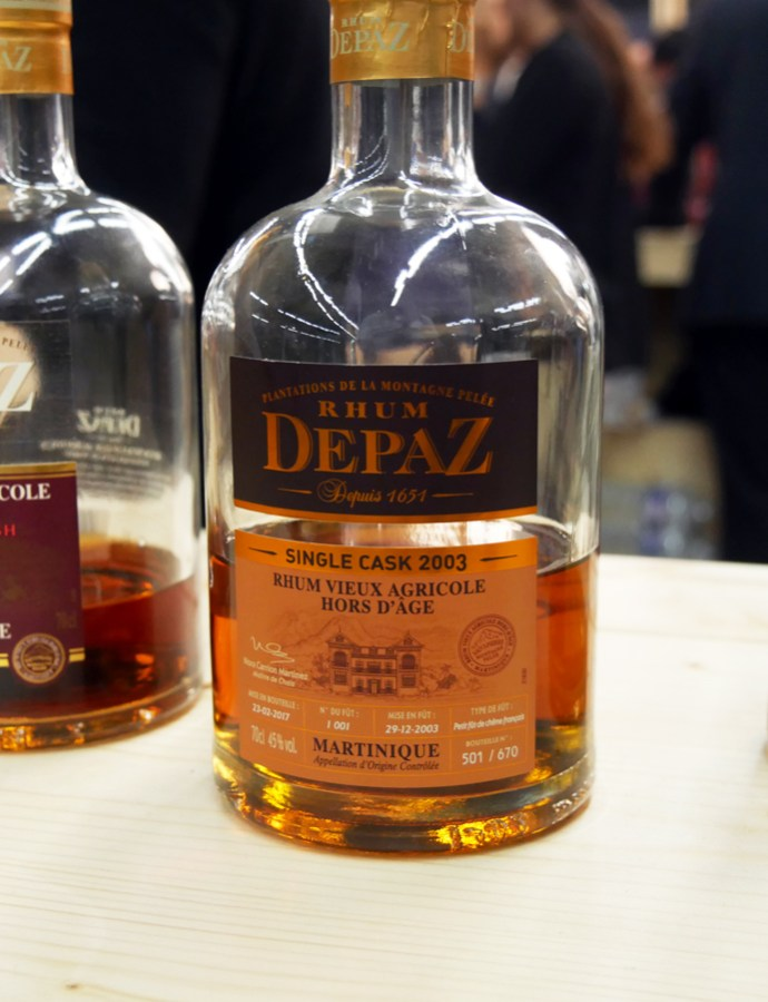 Rhum Depaz Single Cask Millésime 2003 45°