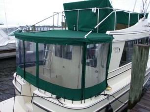 Cockpit enclosure - port side view