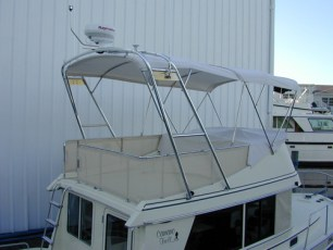 Arch bimini profile - another view