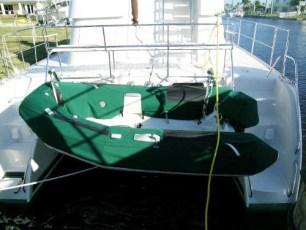 Custom dinghy cover
