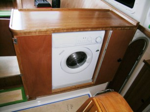 Standard washer/dryer cabinet