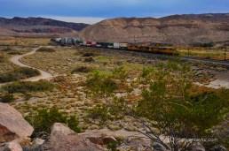 Afton Canyon, Union Pacific Line