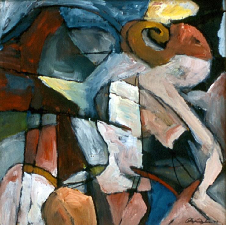 'Monkey Shy' Painting by Rhyan Taylor