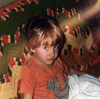 Cute Kid 1970's
