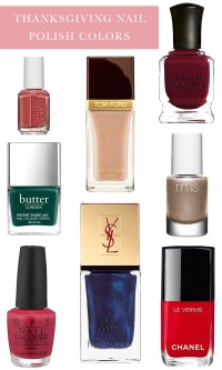 Thanksgiving Nail Polish Colors