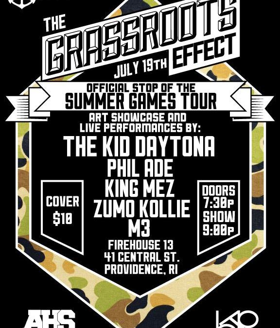 The Grass Roots Effect @ FireHouse XIII | THURSDAY 7.19.12