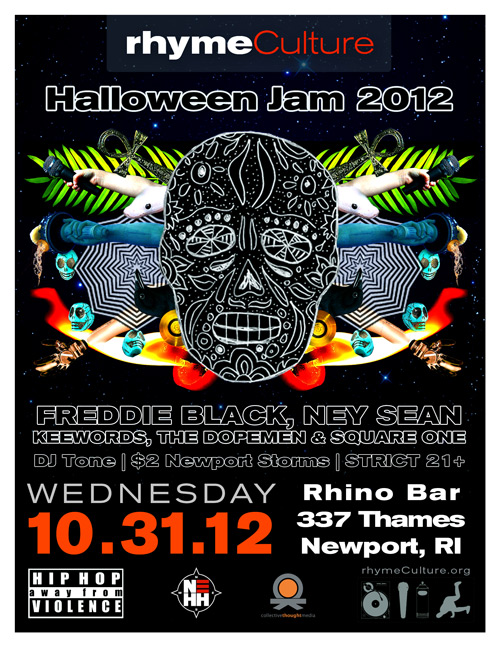 Halloween Jam 2012 @ The Rhino Bar | WEDNESDAY 10.31.12