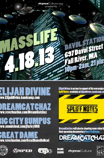 MASSLIFE @ Davol Station in Fall River, MA | THURSDAY 4.18.13