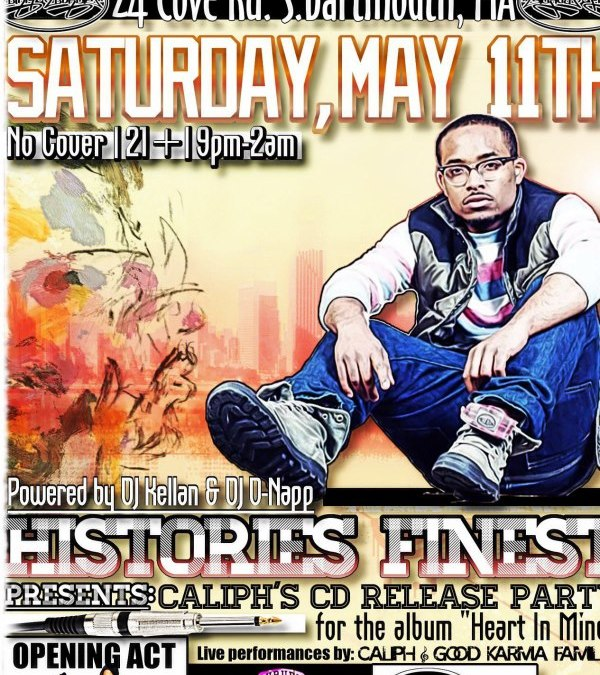 "Caliph's ""Heart in Mind"" Release Party @ Miller's Homeport 