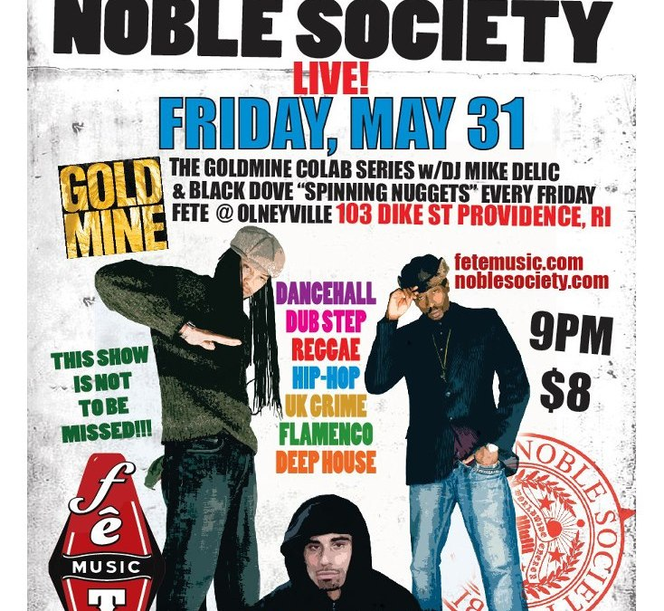 Noble Society & Jahdan Blakkemoore @ Fête | FRIDAY 5.31.13