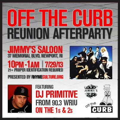 Off The Curb Reunion Show & After-Party | MONDAY 7.29.13