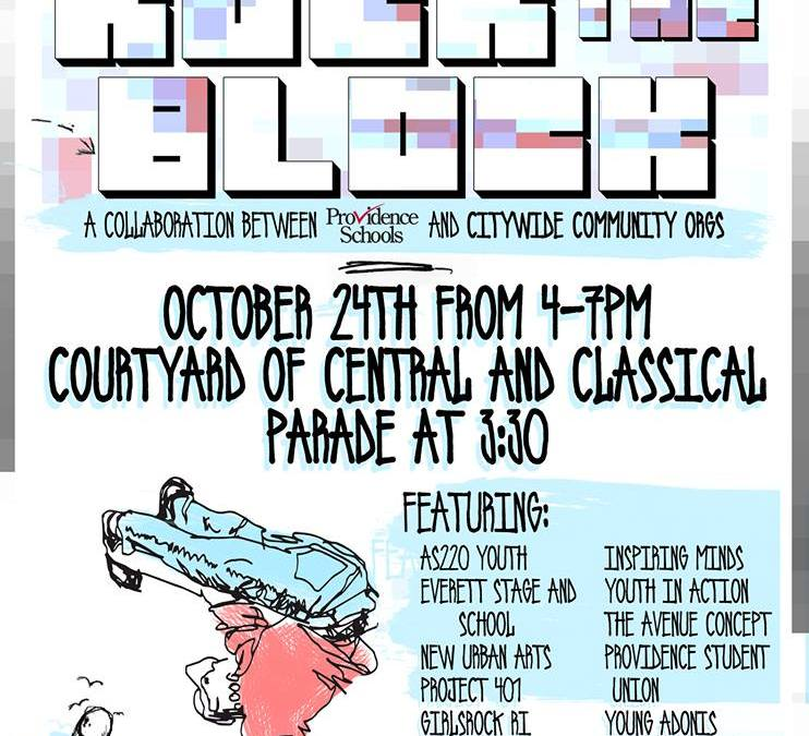 Rock The Block | FRIDAY 10.24.14