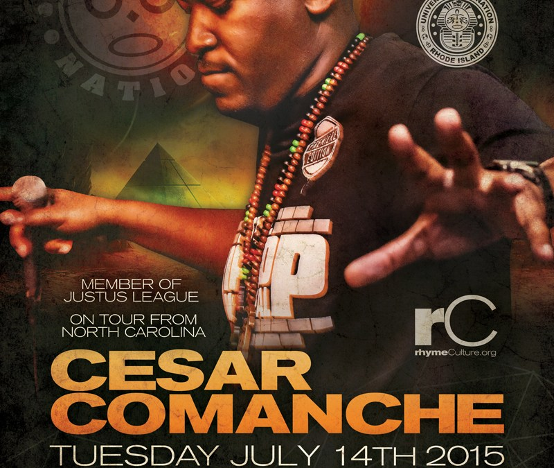 Cesar Comanche – Tuesday 7/14/15
