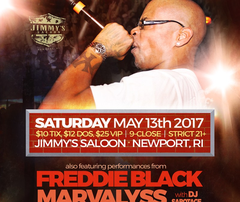Sadat X @ Jimmy's Saloon | Saturday 5/13/17