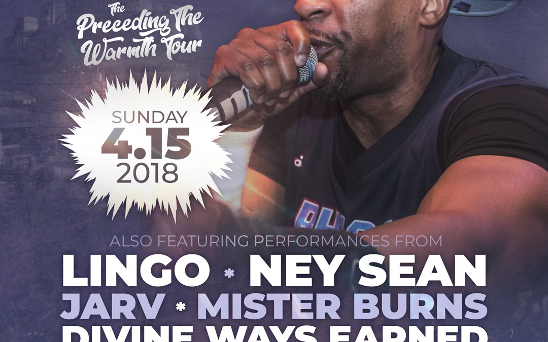 Masta Ace @ Newport Blues Cafe | Sunday 4/15/18
