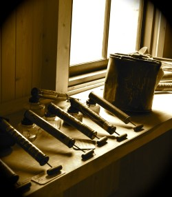 Reford Gardens tools