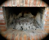 Fireplace Ashes Into Garden