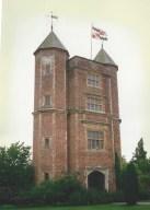 The tower at Sissinghurst Castle Garden.